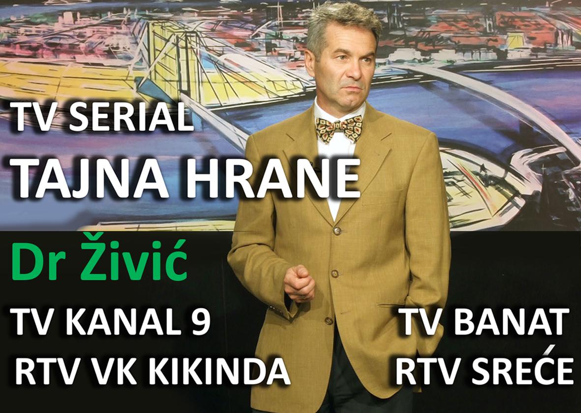 TV SERIJAL TAJNA HRANE- PONOVO SE EMITUJE